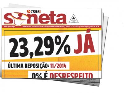 Acesse aqui a Sineta, informativo do CPERS/Sindicato – Junho/2018