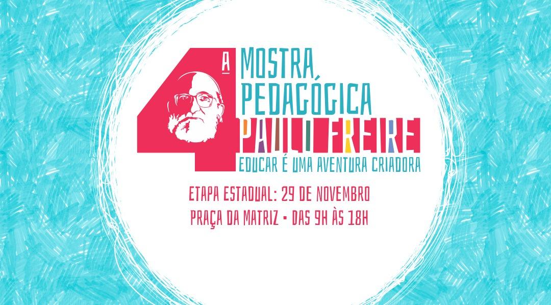 Etapa estadual da Mostra Pedagógica ocorre dia 29, às portas do Piratini