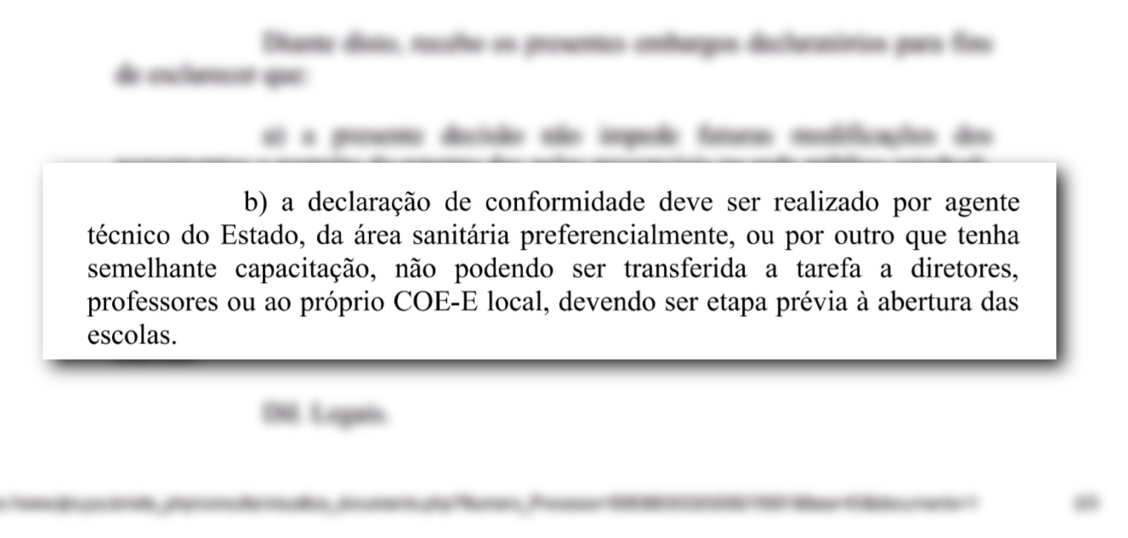 Nova vitória do CPERS na Justiça reafirma: fiscalização das escolas é obrigatória para retomada das ...