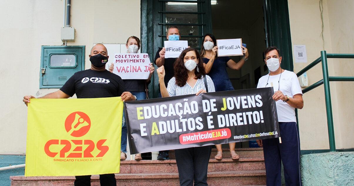 Vitória da luta: Seduc homologa turmas da EJA e CPERS parte em Caravana rumo a escolas que ...